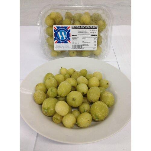 DC Williamson Frozen British Gooseberries - 1x10kg