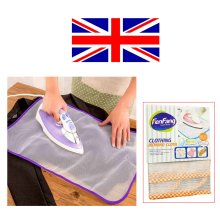 2 Ironing Protective Net Mesh Protect Iron Delicate Garments Clothes