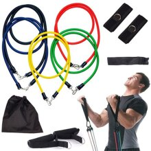 11PCS Resistance Bands Exercise Band Set for Home Workouts