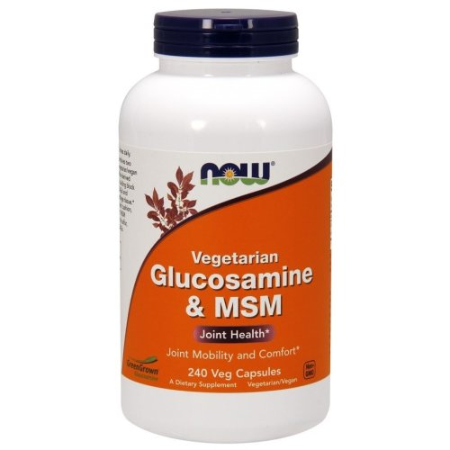 NOW Foods  Glucosamine & MSM, Vegetarian - 240 vcaps