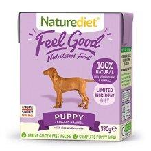 Naturediet Feel Good Puppy Complete Wet Food 390g x 18
