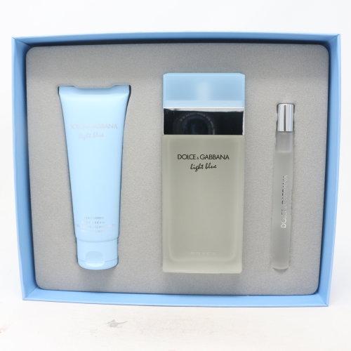 Dolce & Gabbana Light Blue Eau De Toilette 3 Pcs Set