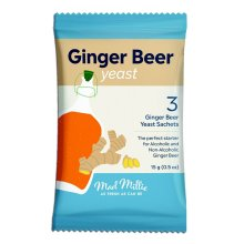 Mad Millie Ginger Beer Yeast 3x sachets makes 13.5L 3 Gallons