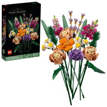 LEGO 10280 Creator Expert Flower Bouquet, Artificial Flowers, Botanical Collection, Set for Adults