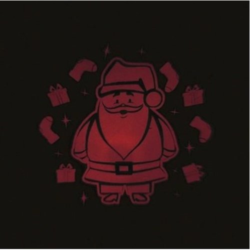 Festive Projector Lights, Indoor And Outdoor Use - Santa Design