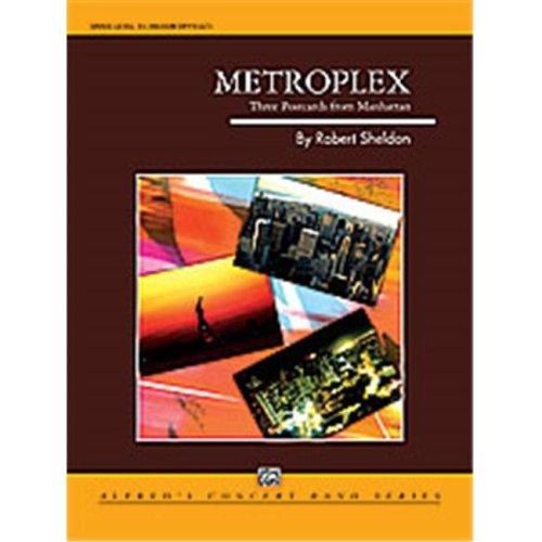 Alfred 00-24669 METROPLEX:3 POSTCARDS MANHAT-CB