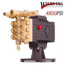 Wilks-USA Pressure Washer Pump - Petrol Brass Head up to 15HP 4800 PSI