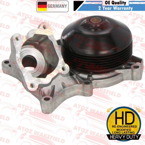 FOR BMW 5 SERIES E60 E61 520d PLATINUM GERMANY WATER PUMP HEAVY DUTY