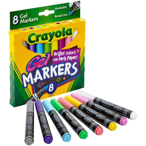 Crayola Gel Washable Markers -Assorted Colors 8/Pkg