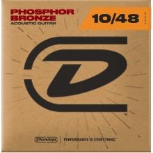 Dunlop Acoustic Guitar Strings  Phosphor Bronze 10-48