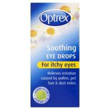 Optrex Soothing Eye Drops for Itchy Eyes, 10 ml