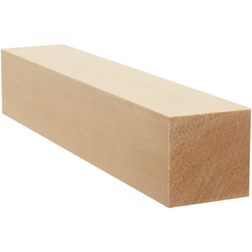 "Basswood Carving Block-1.75""X1.75""X10"""