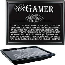 Arora Ultimate Gift for Man Lap Trays Gamer, Multicolour, One Size