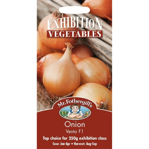 Mr Fothergills - Pictorial Packet - Vegetable - Onion Vento F1 - 100 Seeds