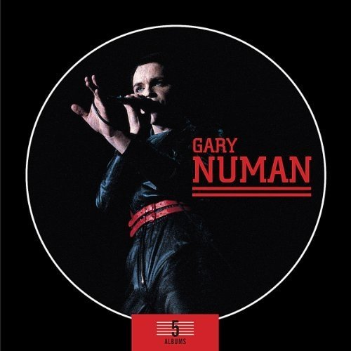 Gary Numan - 5 Album Box Set [CD]