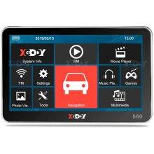 """5"""" SAT NAV 8GB Car Truck HGV LGV GPS UK EU XGODY 560"""