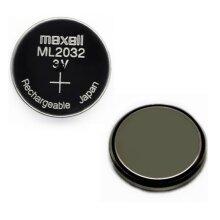 Maxell ML2032 Rechargeable Battery  -  Logitech K750 - Sega Dreamcast
