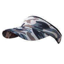 Camo Style Adjustable Sun Visor Cap Empty Top Hat Travel Cap,#05