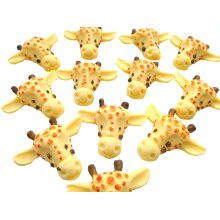 Edible Giraffe Faces Ideal Birthday or Baby Shower Cupcake Toppers