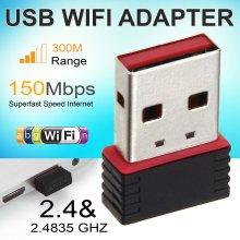 USB WiFi Adapter Wireless Dongle Adaptor 802.11 B G N Lan Network