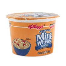 Keebler 42799 Breakfast Cereal, Frosted Mini Wheats, Single-Serve, 2.5 oz, 6 Cups-Box