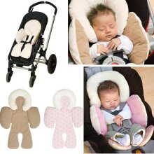 Baby Boy Girl Cushion Pad, Mat For Car Seat, Double-sided, Liner Head, Body Pillow Support, Stroller Accessories