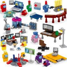 Among Us Toys Model Figures Building Blocks Set