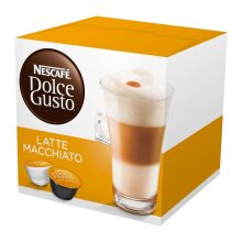Nescafe Dolce Gusto Latte Macchiato (Pack of 4)