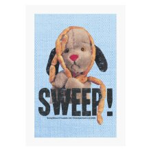 Sooty Sweep Sausages A4 Print