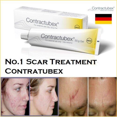 CONTRACTUBEX Gel 20g Scar Acne Burns Surgery Contratubex MERZ UK Stock