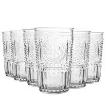 Bormioli Rocco Romantic Water / Juice Tumbler - Box Of 6 Glasses - 305ml