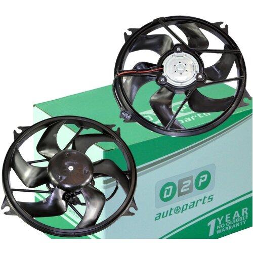 RADIATOR COOLING FAN MOTOR FOR PEUGEOT 307 308 3008 5008 PARTNER RCZ 1.6 2.0