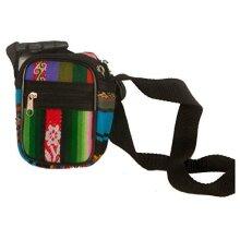Fair Trade Bolivian Soft Aguayo Camera Case Purse Bag 10 Designs Bum shoulder