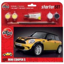 AIRFIX A55310 Large Starter Set - MINI Cooper S 1:32 1:32 CarModel Kit