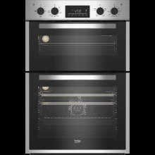 Beko BBDF26300X Built In Electric Double Oven - Stainless Steel