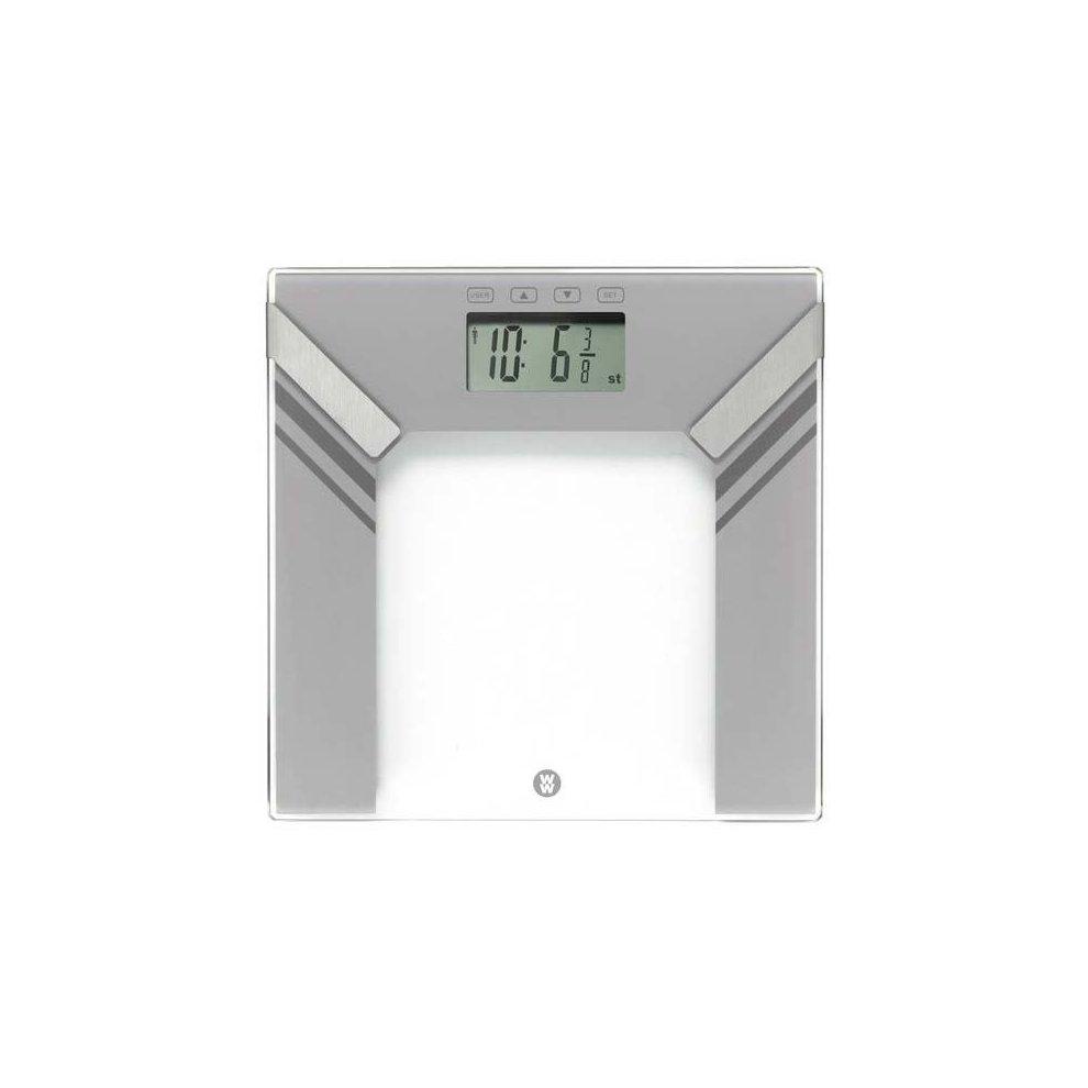 Weight Watchers Ultra Slim Electronic Digital Glass Body Weight Bathroom Scale