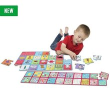 CHAD VALLEY PLAYSMART JUMBO ALPHABET AND NUMBER JIGSAW