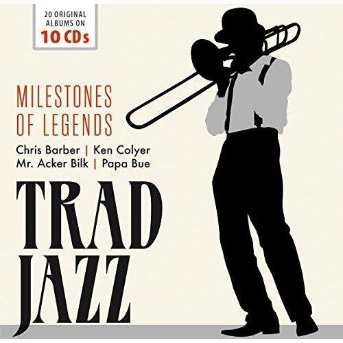 Trad Jazz - Milestones of Legends [CD]
