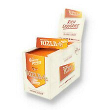 RIZLA LIQUORICE Cigarette Smoking Rolling Papers