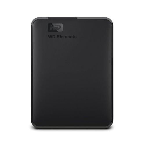 WD WDBUZG0010BBK-WESN 1TB Elements Portable USB 3.0 Hard Drive WDBUZG0010BBK-WESN