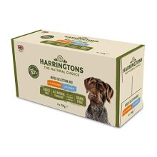 Harringtons Grain Free Wet Dog Food Mixed Flavours 6x150g, Pack of 4