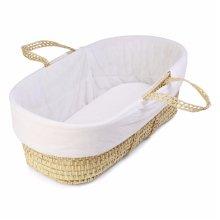 Quilted Moses Basket Liner | Baby Basket Liner