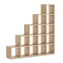 15 Cube Shelf Storage Cube Shelves 1830x1810x330mm