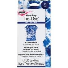 Tulip One-Step Tie-Dye Refill .13oz 3/Pkg-Blue