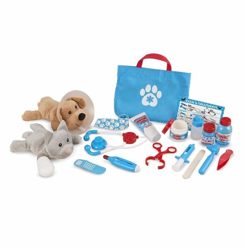 24pc Melissa & Doug Examine & Treat   Pet Play Set