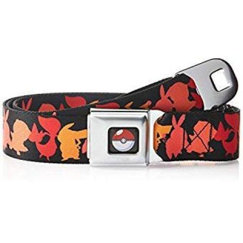 Seatbelt Belt - Pokemon - V.29 Adj 24-38' Mesh New pka-wpk015
