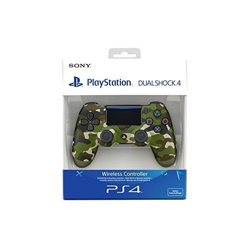 Sony Playstation 4 DualShock Controller in Green Camouflage