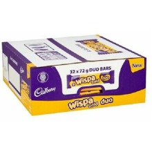 Cadbury Wispa Gold Duo Chocolate Bars 32x 72g  Best Before 13th Sep 21
