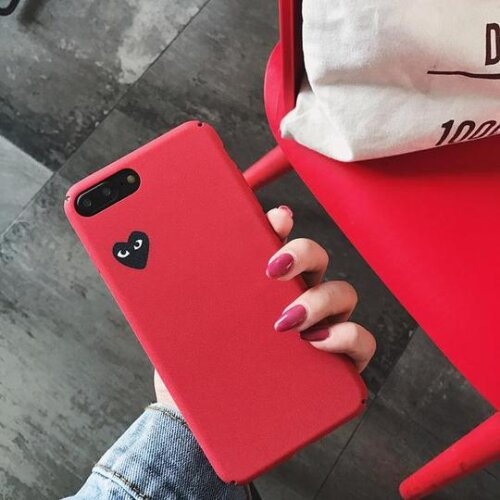 (Red, FOR IPHONE XR) Iphone Case Covers Back Cases Hard Fitted Cases