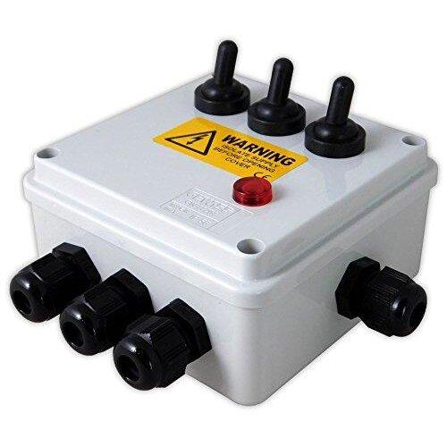Aquacadabra 3-WAY POND GARDEN SWITCH BOX